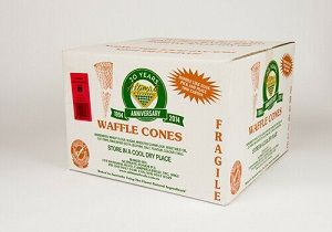WAFFLE CONES 65 x 140mm C ALTIMATE x 240