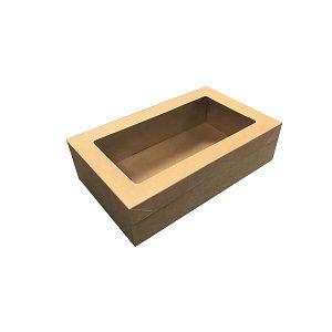 SMALL CATERING BOX  KRAFT BROWN x 10 (10)