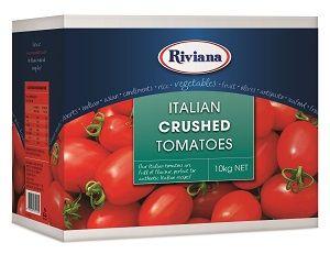 10kg ITALIAN CRUSHED TOMATOES RIVIANA BIB