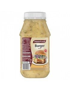 BURGER SAUCE MASTERFOODS x 2.2kg (6)