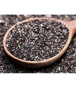 BLACK SESAME SEEDS NATURES GROCER x 1kg