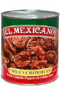 CHIPOTLE PEPPERS IN ADOBO SAUCE 3kg EL MEXICANO