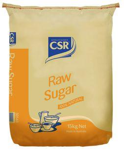 15kg RAW SUGAR CSR GFREE