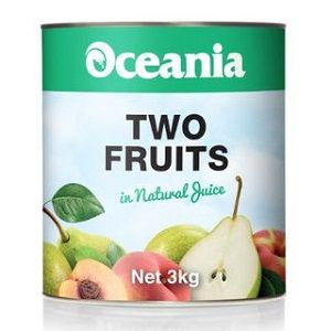 OCEANIA TWO FRUITS IN NAT JUICE x 3kg (3)