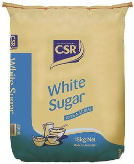 15kg WHITE SUGAR CSR GFREE