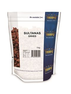 SULTANAS IMPORTED TRUMPS x 1kg (10)