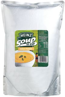 HARVEST PUMPKIN POUCH SOUP HEINZ x 3kg (4)
