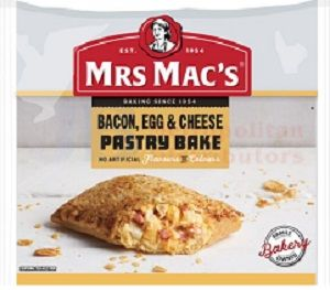 BACON EGG CHEESE PASTRY BAKE MMAC 155g x 12