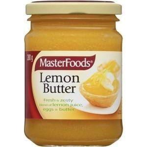 LEMON BUTTER MASTERFOODS x 280g (6)
