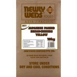 YELLOW PANKO CRUMB JAPANESE NEWLYWEDS x 10kg