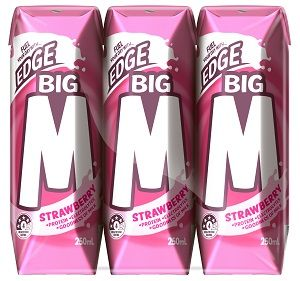 BIG M2GO STRAWBERRY MILK DRINK UHT 250ml x 24
