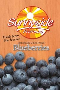BLUEBERRIES FROZEN IQF SUNNYSIDE x 1kg (12)