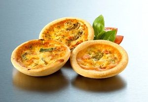 VARIETY PACK 1 PETITE QUICHE CUL SELECT 40g x 72