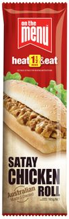 OTM CHICKEN SATAY ROLL 12x190g
