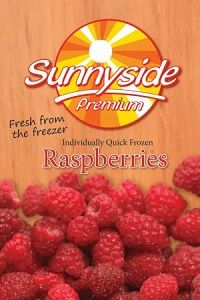 RASPBERRIES FROZEN IQF SIMPED FOODS x 1kg (12)