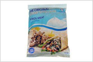 LAMB YIROS MEAT SPFOODS x 1kg (6)