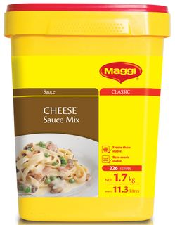 CHEESE SAUCE MIX MAGGI x 1.7kg (6)