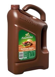 FOUNTAIN BARBECUE SAUCE GFREE x 4lt (3)