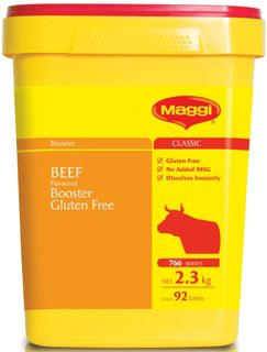 BEEF BOOSTER MAGGI GFREE x 2.3kg (6)