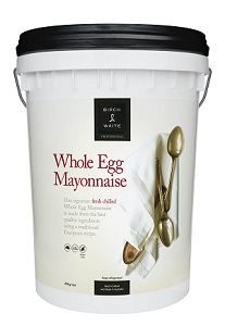20kg BIRCH WAITE WHOLE EGG MAYO GFREE x PAIL