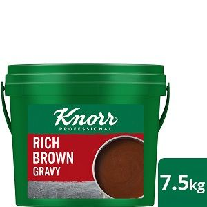 KNORR RICH BROWN GRAVY x 7.5kg PAIL