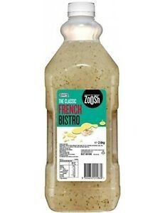 FRENCH DRESSING ZOOSH (KRAFT) GFREE x 2.6kg (4)