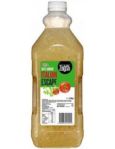 ITALIAN DRESSING ZOOSH (KRAFT) GFREE x 2.6kg (4)