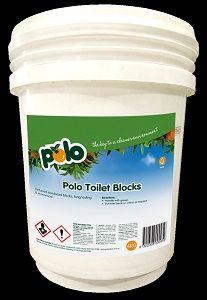 TOILET BLOCKS DEODORANT POLO x 4kg