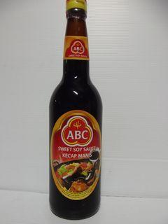 ABC SOY SAUCE KETJAP MANIS x 620ml (6)