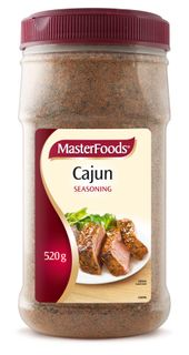 CAJUN SEASONING MFOOD x 520g (6)