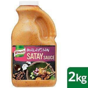 SATAY SAUCE KNORR MALAYSIAN x 2kg (6)