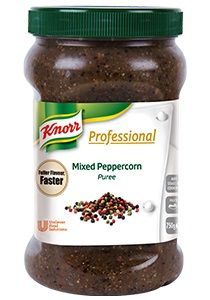 MIXED PEPPERCORN PUREE KNORR x 750g (2)