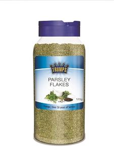 PARSLEY FLAKES TRUMPS CANISTER x 120g (6)