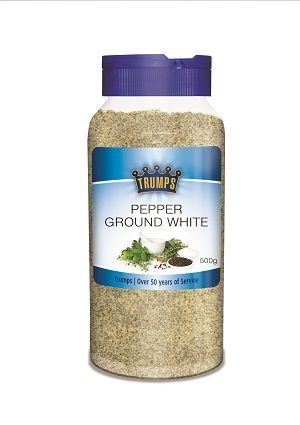 WHITE PEPPER GROUND TRUMPS x 500g (6)