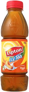 PEACH ICED TEA LIPTON 500ml x 12