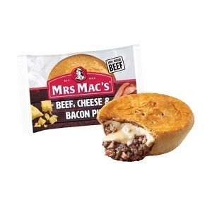 BEEF CHEESE BACON PIE MMAC 175g x 12