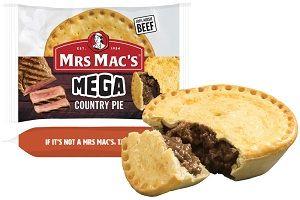 MEGA COUNTRY BEEF PIE MMAC 280g x 12