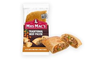 PASTIE TRADITIONAL BEEF MMAC 165g x 12