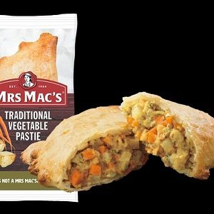 TRADITIONAL VEGETABLE PASTIE MMAC 165g x 12
