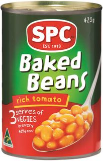 425g BAKED BEANS SPC GFREE x 24