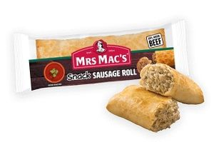 SNACK SAUSAGE ROLL (HSTYLE) MMAC 120g x 24
