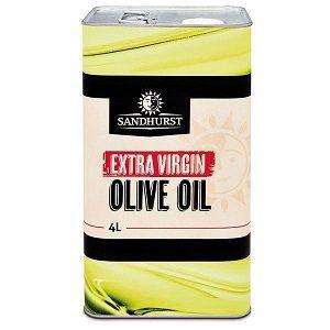 OLIVE OIL EXTRA VIRGIN SHURST  x 4ltr (4)