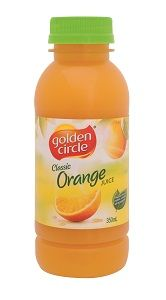 ORANGE JUICE SCREW TOP GCIRCLE 12 x 350ml