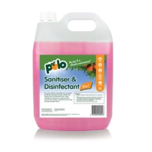 SANITISER DISINFECTANT 2 IN 1 POLO x 5lt (4)