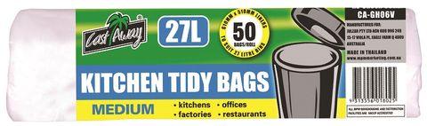 KITCHEN TIDY BAG MEDIUM 27lt x 50 (20)