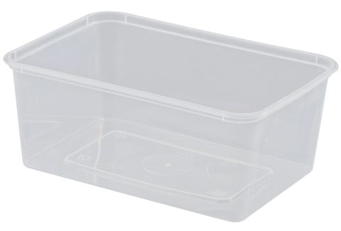 1000ml RECTANGLE CONTAINER CAWAY x 50 (10)