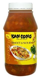 KAN TONG SWEET SOUR SAUCE x 2.8kg (6)