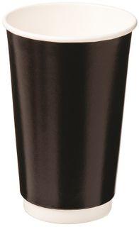 16oz BLACK DBL WALL ECO CUP CAWAY 460ml x 20 (15)