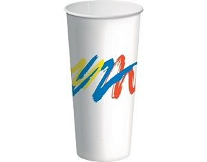 MILKSHAKE CUP 800ml (24oz) CAWAY ECO SMART x 25 (20)