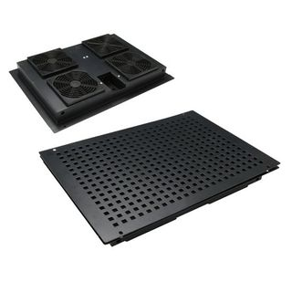 CERTECH Replacement Drop Down Fan Tray for Free Standing Cabinets